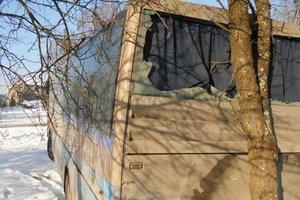 """Во Львовской области пьяный мужчина угнал автобус, чтобы """"покататься"""""""