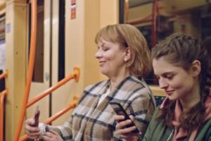Google снял рекламные ролики в киевском метро