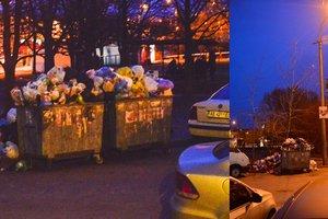 Мусорная ловушка: жители Днепра возле школы увидели жуткую картину (18+)