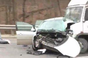 Жуткое ДТП во Львовской области: погибшего водителя зажало в покореженном Ford