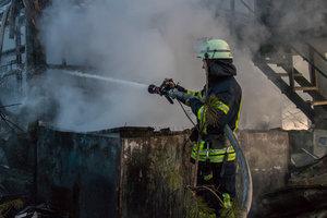 В Киеве мужчина погиб в Гидропарке во время пожара