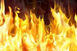 На запорожском курорте в огне погиб человек
