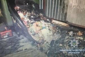 Автопожар под Киевом: следы поджога не обнаружены