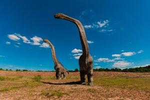 В Шотландии обнаружили реальные следы динозавров