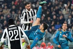 Это невероятно: Роналду забил фантастический мяч Буффону в Лиге чемпионов