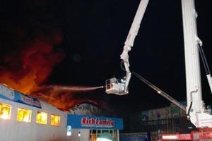 В российской Тюмени горел детский магазин