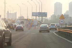 В Киеве ограничат движение авто по Южному мосту