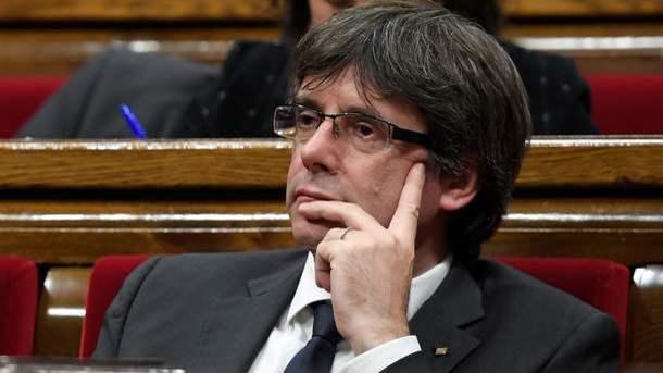 Суд вГермании освободил Пучдемона под залог в75тыс.евро
