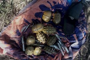 В Запорожской области СБУ обнаружила схрон с гранатами