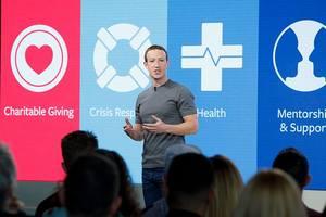 Facebook удалил переписку Марка Цукерберга
