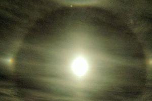 В небе над Харьковом сняли редкое оптическое явление