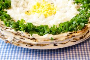 """Рецепт дня: печеночный торт """"Пасхальный"""""""