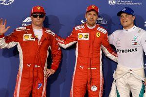 Феттель выиграл квалификацию Гран-при Бахрейна в Формуле-1
