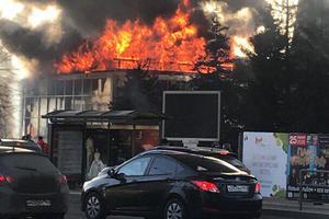 В Самаре произошел пожар в ТРЦ