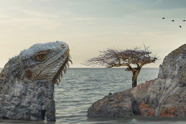 Ученые обнаружили останки древней крупной рептилии