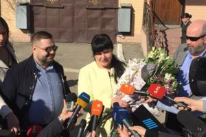 В Харькове вышла на свободу женщина, отбывавшая пожизненный срок
