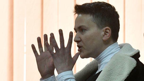 СБУ провела обыски вквартире иофисе Надежды Савченко