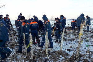 На месте крушения Ан-148 под Москвой до сих пор лежат фрагменты тел - родственница погибшей