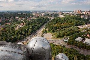 В Киеве снова открылась смотровая площадка на высоте птичьего полета