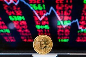 Курс Bitcoin провалился ниже психологической отметки