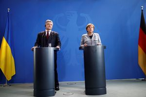 Украина и Германия стали активнее торговать друг с другом - Порошенко