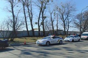 В Киеве парень избил патрульного