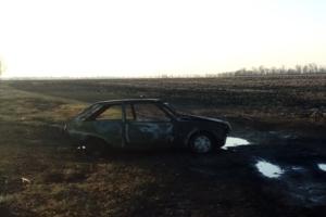 Под Харьковом на ходу загорелось авто: водитель погиб