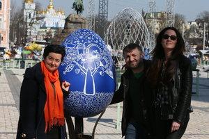 """Писанка """"Сегодня"""": как найти на Софийской площади яйцо, приносящее счастье"""