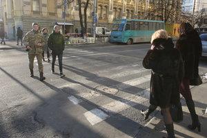 Дороги в Киеве оборудуют островками безопасности
