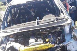 Жуткая авария на ралли: перевернулся автомобиль экс-теннисиста Давида Налбандяна