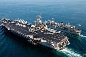 """США направят ударную группу ВМС с авианосцем """"Гарри Трумэн"""" к Ближнему Востоку – СМИ"""