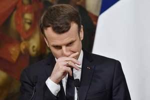 Макрон назвал цели возможных ударов из-за химатаки в Сирии