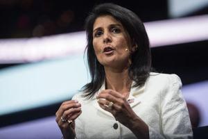 """Хейли: Россия решила защищать """"чудовище"""", а не жизни сирийцев"""