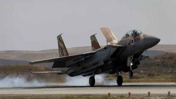 Израильские ВВС ударили посектору Газа