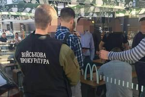 В Запорожье военная прокуратура задержала патрульного копа