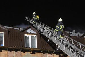 Под Киевом произошел крупный пожар в общежитии