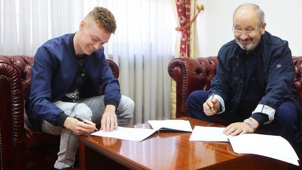 «Динамо» продлило договор слидером клуба