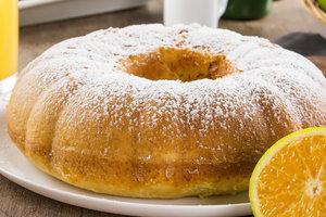 Что испечь к чаю: апельсиновый кекс с пропиткой