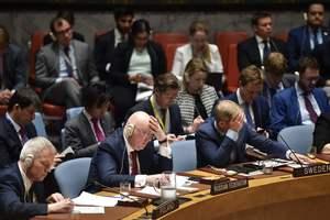 СБ ООН отверг российский проект резолюции по Сирии
