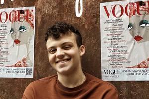 Иллюстрация украинского художника украсила обложку британского Vogue