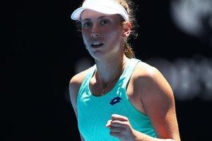 Элизе Мертенс выиграла два теннисных титула за день