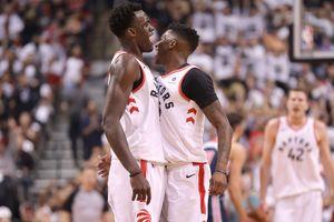 """Дождик на арене""""Торонто"""" на фарт: сыграны первые матчи плей-офф НБА"""