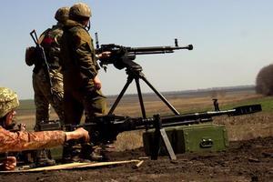 За сутки в зоне АТО боевики устроили 59 обстрелов