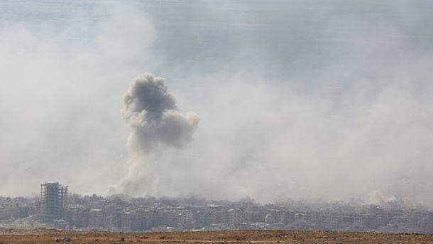 Новая атака вСирии— какая страна наэтот раз