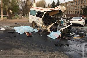Жахлива ДТП в Кривому Розі: вісім загиблих, 17 поранених