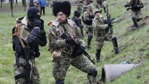 Российская Федерация делает вКрыму вооруженные казачьи отряды