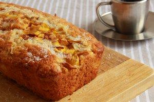 Как приготовить кекс с манго и овсяными хлопьями