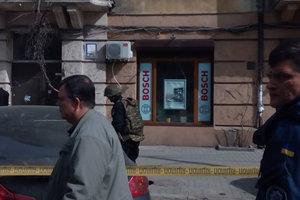 Вооруженный спецназ в центре Одессы: копы учились освобождать заложников