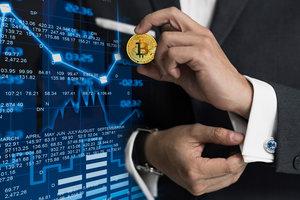 Курс Bitcoin идет вверх после провала ниже психологической отметки