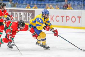 Украина одержала вторую победу на домашнем чемпионате мир по хоккею